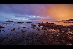 2017-01 - coucher de soleil au Dramont (g_dubois_fr) Tags: île dor dramont port poussai saint raphael sea mer méditerranée coucher de soleil pose longue long exposure sunset beach plage island var rivage