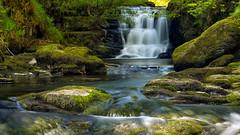 Long exposure at Watersmeet North Devon (robhillsphoto) Tags: landscape landscapephotography longexposure waterfall northdevon devon