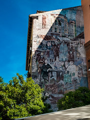 Steet scene (Bob Hetherington) Tags: street mural painting art scene outdoor madrid rastro calle embajadores