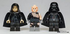 Lego 75183 - Star Wars - Darth Vader Transformation (gnaat_lego) Tags: 75183 anakin darkvador darthvader darthvadertransformation lego palpatine review starwars