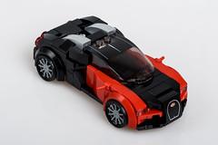 Bugatti Veyron 16.4 (Velocites) Tags: bugatti bugattiveyron lego moc