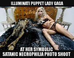 (Maison de l'Alchimiste) Tags: ladygaga gaga necromencie necrophilie necrophage illuminati 666 satanic satanique satan devilinside evil baphomet solveetcoagula solve coagula numberofthebeast labête lamort