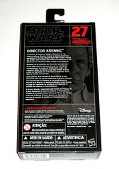 star wars the black series 6 inch action figure #27 director krennic rogue one a star wars story hasbro 2015 misb b (tjparkside) Tags: director krennic orson 27 tbs star wars black series 6 six inch basic action figure figures removable cape blaster pistol story rogue one 1 hasbro 2016 advanced weapons research imperial military death project 2015 misb