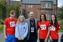 Rafa Benitez and his family (James O'Hanlon) Tags: btr runfor96 run for 96 runforthe96 liverpool stanley park 5k race event lfc 2017 stars vip jft96 jft