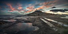 Faro del Cabo de las Huertas (joaquinain) Tags: longexposures largaexposición mar mediterráneo mediterranean sea seascape nubes clouds faro lighthouse olympus omd em1 voigtlander