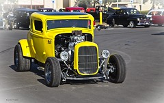 Yellow Street Rod (1) (Kool Cats Photography over 8 Million Views) Tags: yellow carshow southwesthotrodnationals