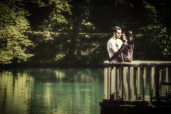 Romeo and Juliet? (Morag.) Tags: candid romance love romeo juliet couple pond switzerland basel nikon d3300 nikkor lightroom