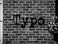 19 52 Public Typeface - Outtake (Lyndon (NZ)) Tags: week192017 52weeksthe2017edition weekstartingsundaymay72017 blackandwhite monochrome gimp sign wall city brisbane australia outtake