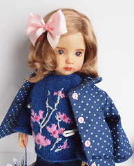New outfit (Maria Kłopotowska) Tags: littledarling effner sweater coat shoes doll
