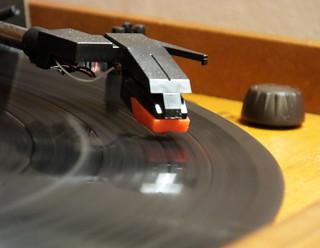 Vinyl..... pure mechanical sound...