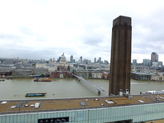 Baroque and Modern (failing_angel) Tags: 190816 london bankside tatemodern switchhouse stpaulscathedral banksidepowerstation theswitchhouse herzogdemeuron