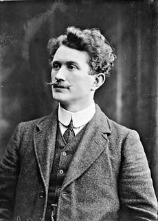 Thomas Ashe, half-length portrait