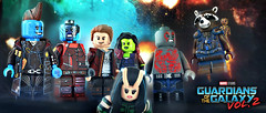 LEGO Guardians of the Galaxy Vol. 2 Preview #2 (MGF Customs/Reviews) Tags: lego guardians galaxy vol 2 starlord gamora drax rocket raccoon yondu udonta baby groot mantis nebula ego the living planet custom figure minifigure