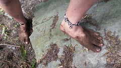 photo_2017-05-21_19-17-35 (2) (bfe2012) Tags: barefoot barefeet barefooting barefooted barefooter barefoothiking baresoles barefoothiker toughsoles feet lifestyle toes dirtyfeet dirtysoles