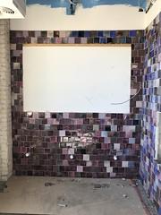 Bathroom Tile Going In
