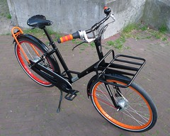 WorkCycles Gr8 Black-Red-Orange-4 (@WorkCycles) Tags: amsterdam bicycle bike city custom dutch fiets gr8 ladies stadsfiets workcycles