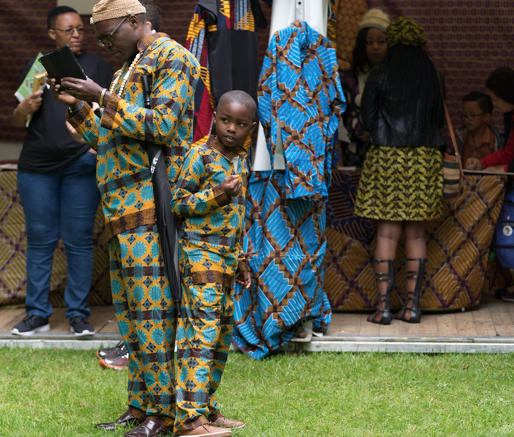 TRYING TO BLEND IN [AFRICA DAY 2017 IN DUBLIN]-128874