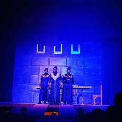 Jesus Christ Superstar: The Musical. #Day105 #Caiaphas #Annas . (c) Marlene C. Francia 2017. . . . . . . . . . . . . #HolyWeek #Lategram #LentenSeason #Easter #JesusChristSuperstar #SemanaSanta #Nairobi #ThisJesusMustDie #Musical #KenyaNationalTheater