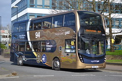 Stagecoach West 10753 SN66VXX (Will Swain) Tags: gloucester 4th april 2017 gloucestershire bus buses transport travel uk britain vehicle vehicles county country england english city centre stagecoach west 10753 sn66vxx