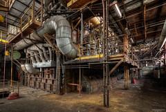 Boiler (State of Decay) Tags: urbex urbanexploring hdr industrial industrieel boiler roest rust abandoned verlaten powerplant energiecentrale industry industrialheritage ue exploring factory