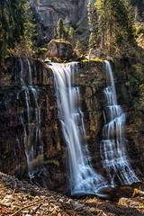 La Grande Cascade 02 (glassonlaurent) Tags: cascade 73 savoie france rivière water waterfalls landscape paysage eau le cirque de saintmême grande