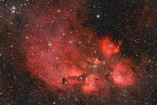 Cat´s Paw Nebula (NGC 6334)