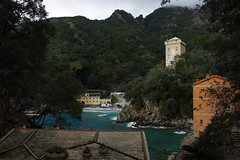 Exploring the remote San Fruttuoso bay (Gregor  Samsa) Tags: italy italia spring easter april march trip exploration hike hiking sail sailing portofino ligury liguria sanfruttuosobay san fruttuoso bay monastery old ancient
