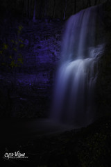 Spring Blues (wilbias) Tags: ontario canada spring water blue long niagara waterfall falls exposure upper vertical may hamilton dundas escarpment sydenham