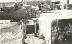 9 Sqn Vietnam 1967 (Dulacca.trains) Tags: 9squadron raaf airforce vietnam vungtau uh1b bell204 bravo iroquois huey australia australian
