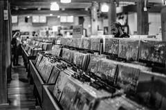 Sonic Boom, Downtown Toronto (marc.tucci) Tags: toronto film 50mm nikon blackandwhite ilfordhp5plusbwiso400 records vinyls filmphotography ilford photo picture pictures store public music life sonicboom