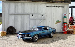 1969 Ford Mustang Boss 302 Fastback Coupe (JCarnutz) Tags: 124scale diecast danburymint 1969 ford mustang boss302