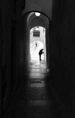 Open Silhouette (oiZox) Tags: silhouette open streetphotagraphy street tunnel life urban fotourbana trento trentino introspectus incontri imperatore orlandoimperatore ombreeluci people nikon light lux love human gente friends d750 depthoffield dof arquitecture zox zoximage exterior city calle citta ciudad cityscape viejo blackwhite blanconegro bw monocromatico mono monochrome