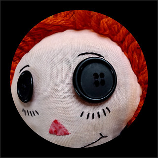 Raggedy Ann's Eye - fish eye view