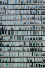 343 - Office Space (kosmekosme) Tags: office space window windows blue cyan glass amsterdam amsterdamzuid wtc world trace center worldtradecenter building buildingcomplex line lines pattern patterns abstract abstractpainting urban city architecture modernarchitecture modern wtchtoren htoren zuidplein