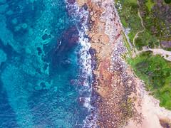 Water & rocks (leonsidik.com) Tags: leon sidik drone aerial maroubra beach rocks sea ocean 2017 australia