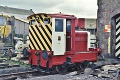 RH 458957/1961 (Down to nowhere) Tags: ruston rustonandhornsby rh4589571961 industriallocomotive 4wdm caledonianrailway caledonianrailwaybrechinltd brechinstation brechin dewarhighlander johndewarsons