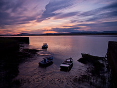 Sunset-on-Tay-5100135 (E.........'s Diary) Tags: newburgh sunset river tay boats cobbles