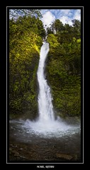 Horsetail Falls... (Ring of Fire Hot Sauce 1) Tags: waterfall horsetailfalls portland oregon vertorama columbiarivergorge forest