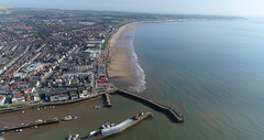 Bridlington Aerial Stills (GIgaYork) Tags: bridlington sea front beach east yorkshire coastline water brid promenade spa phantom phantom4pro phantom4 4k video stills