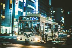 HINO Blue Ribbon City Hybrid_LNG-HU8JMGP_Kyoto200Ka2985 (hans-johnson) Tags: hino blueribbon blueribboncity hybrid bus hu8j kyoto japan kinki kansai 日野・ブルーリボンシティ ブルーリボンシティ ブルーリボン シティ ハイブリッド バス 京都 近畿 関西 日本 車輛 戶外 路 kanto transportation transport transit ribbon blue nihon nippon canon eos eos5d 5dm3 traffic 2470mm asia street night light hdr road public publictransport jbus vsco lightroom slr dslr 5d3 5diii japanese asian fullframe metropolitan metropolis pan