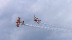 Breitling Wing walkers (mickreynolds) Tags: breitling wingwalkers stunt plane airplane air show nx500westportcomayoireland wildatlanticway