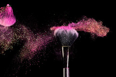 Collision (g3az66) Tags: collision makeup powder glitter