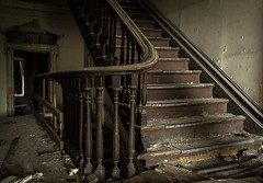(Rodney Harvey) Tags: abandoned mansion st louis missouri church urban decay urbex exploration architecture staircase