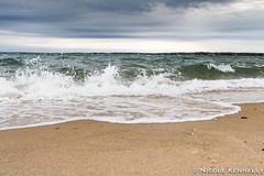 Waves & Water Spray (love_longisland) Tags: longisland shelterisland shelterislandsound waves water waterspray beach beachscape