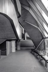 Inside Sydney Opera House (Max Pa.) Tags: sydney opera house australia australien canon 5d 2470mm architecture inside architektur city utzon new south wales black white light