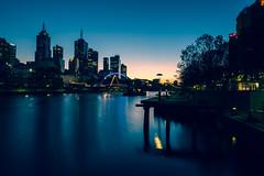 Melbourne Sunrise 21 May 2017 (Happier Imagery) Tags: melbourne cbd city sunrise australia vic victoria yarra river landscape shadow