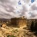 Temple of Bacchus, Baalbek Lebanon