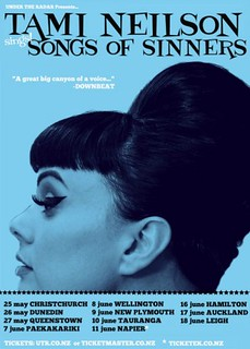 Songs Of Sinners Tour Poster