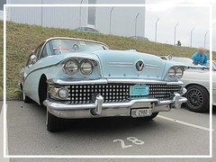 Buick Caballero, 1958 (v8dub) Tags: buick caballero 1958 schweiz suisse switzerland fribourg freiburg otm american gm pkw voiture car wagen worldcars auto automobile automotive old oldtimer oldcar klassik classic collector