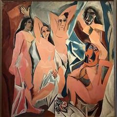 Años queriendo ver este cuadro! Les Demoiselles d'Avignon - Picasso 1907 (joseluiscarcamoar) Tags: instagramapp square squareformat iphoneography les demoiselles davignon lesdemoisellesdavignon picasso moma nyc d avignon